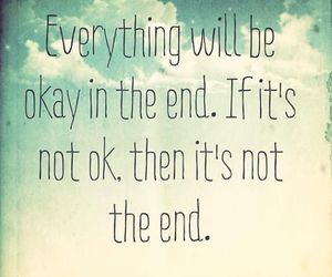 quote, life, and okay image