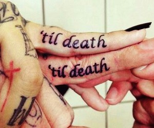 couple, death, and girl image
