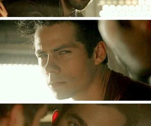 derek, stiles, and stilinski image