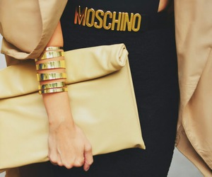 fashion, style, and Moschino image
