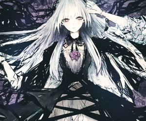 anime, rozen maiden, and suigintou image