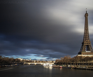 paris, france, and sky image