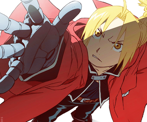 fullmetal alchemist, anime, and edward image