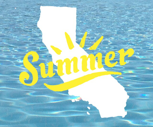 summer, california, and quotes image