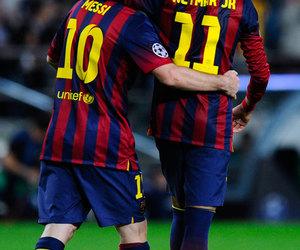 football, neymar, and messi image