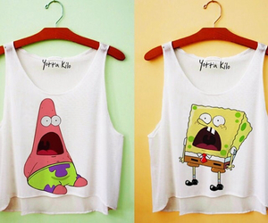 patrick, spongebob, and best friends image