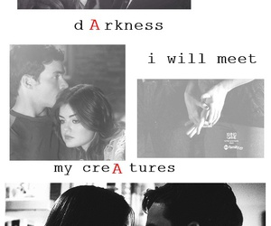 couple, lucian, and lucy hale image