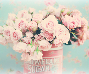 floral, flower crown, and shabby chic image
