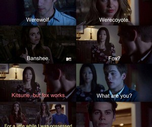 teen wolf, teen wolf quotes, and stiles image