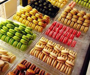 love, colors, and food image
