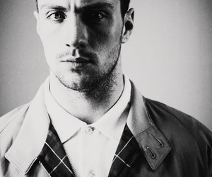 aaron johnson, beautiful, and black and white image