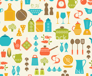 cooking, kitchen, and pattern image