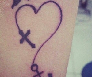 love it and tattoo image