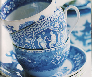 blue and tea time image