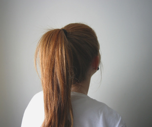 back, girl, and hair image