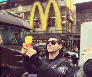 skrillex, McDonalds, and Moschino image