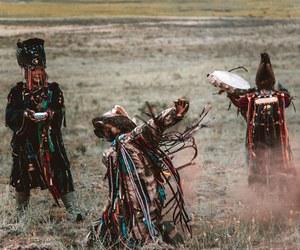 shaman, siberia, and tribe image
