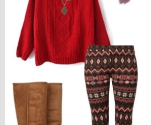 fashion, boots, and leggings image
