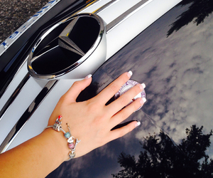 bracelet, car, and charms image