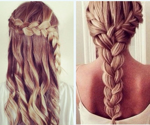 awesome, blonde, and braids image