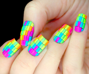 nails, colors, and colorful image