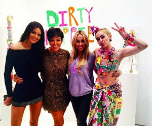 miley cyrus and kendall jenner image