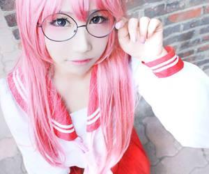 anime cosplay, school girl cosplay, and simple cosplay costume image