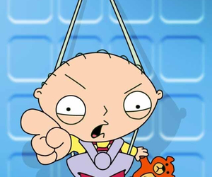 family guy, stewie, and stewie griffin image
