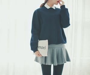 fashion, outfit, and kfashion image