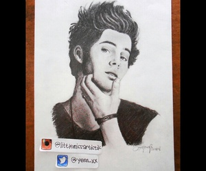 fan art, luke hemmings, and 5 seconds of summer image