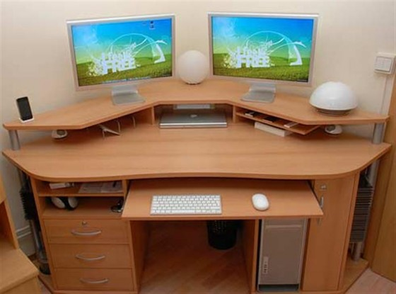 Furniture The Computer Tables For Home By Using The Modern