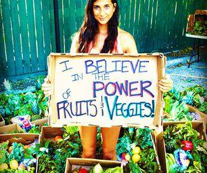 fruit, vegan, and vegetables image