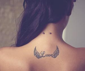 beautiful, tattoo, and love image