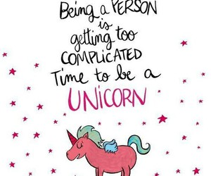 unicorn, pink, and complicated image