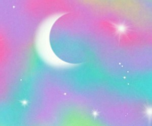 celestial, moon, and stars image