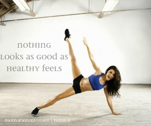 fit, healthy, and fitness image