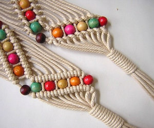 cinturon and Macrame image