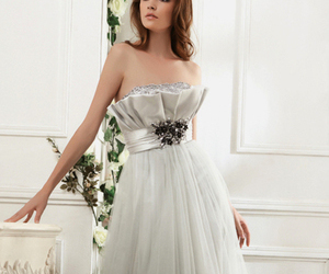 fashion, women, and prom dress image