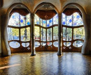 Barcelona, casa batllo, and europe image