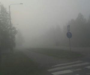 dark, finland, and fog image