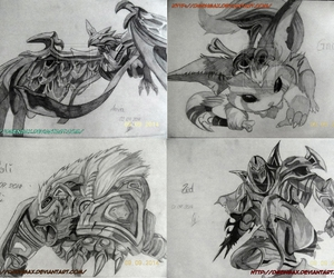 deviantart, drawing, and league of legends image