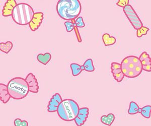 candy, wallpaper, and pink image