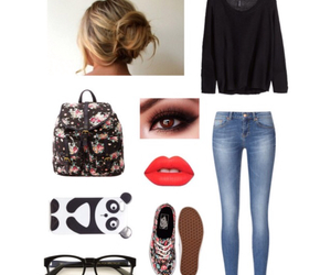bag, outfits, and style image