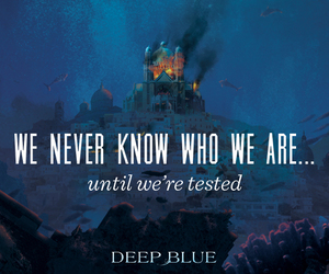 deep blue, mermaid, and jennifer donnelly image
