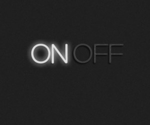 off, on, and neon image