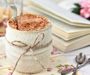 chocolate, cup, and winter image