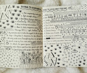book, draw, and grunge image