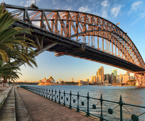 bridge, photography, and australia image
