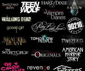 teen wolf, pretty little liars, and american horror story image