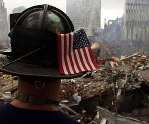 firefighter, memorial, and remember image